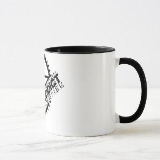 BMXの常習者 マグカップ
