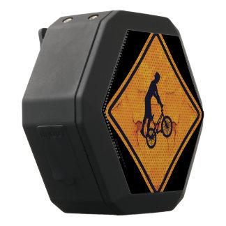BMXの注意の印 ブラックBluetoothスピーカー