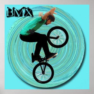 BMXの渦、版権カレンJウィリアムス ポスター