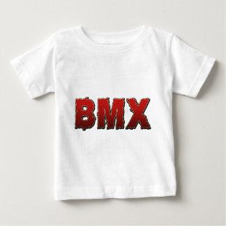 BMXの自転車のサイクリングの循環 ベビーTシャツ