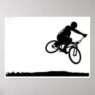 BMXのairborn ポスター