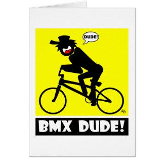 BMX DUDE-18 グリーティングカード