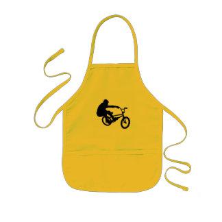 BMX Rider_3 子供用エプロン
