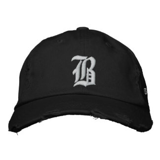 Bniceの帽子 刺繍入りキャップ