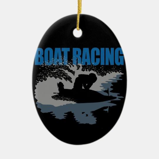 boat racing セラミックオーナメント