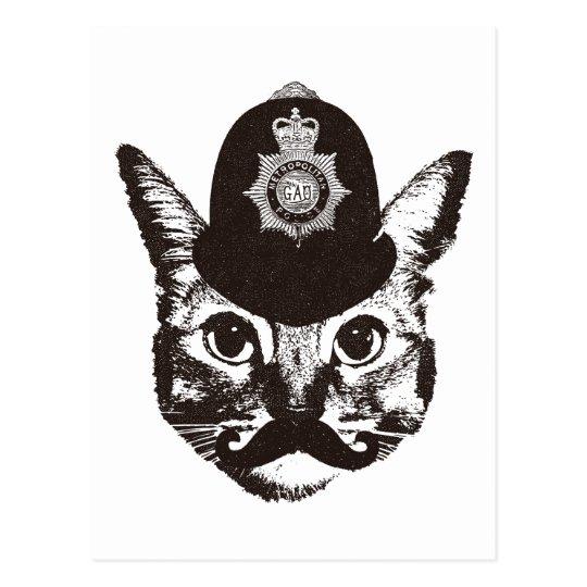Bobby Cat Police ポストカード