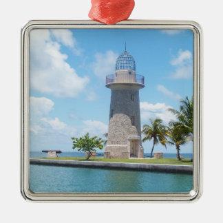 Bocaチタの灯台 メタルオーナメント