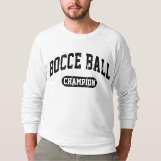 Bocce球のチャンピオン スウェットシャツ
