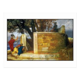 Bocklin著ヘラクレスの聖域 ポストカード