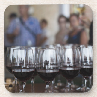 Bodega Marques de Riscalのワイナリー、ワインの試飲 コースター