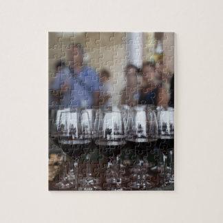 Bodega Marques de Riscalのワイナリー、ワインの試飲 ジグソーパズル