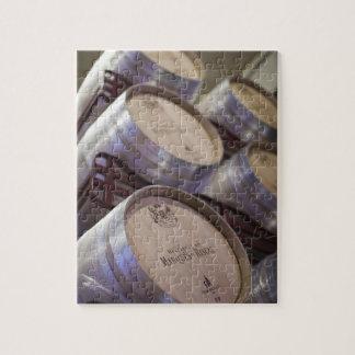 Bodega Marques de Riscalのワイナリー、ワイン貯蔵室2 ジグソーパズル