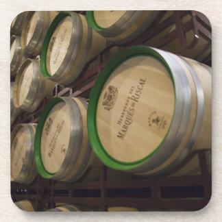 Bodega Marques de Riscalのワイナリー、ワイン貯蔵室 コースター