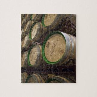 Bodega Marques de Riscalのワイナリー、ワイン貯蔵室 ジグソーパズル