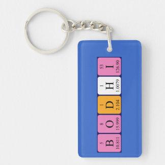 Bodhiの周期表の名前のキーホルダー キーホルダー
