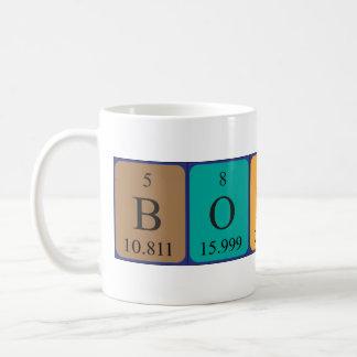 Bodhiの周期表の名前のマグ コーヒーマグカップ