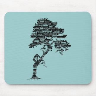 Bodhiの木のマウスパッド マウスパッド