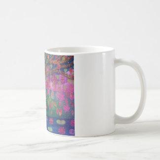 Bodhiの木の黙想のマグ コーヒーマグカップ