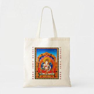 Bodhisattvaクールなチベットのthangkaのドラゴン王 トートバッグ