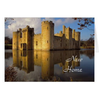 Bodiamの城の新しい家カード カード