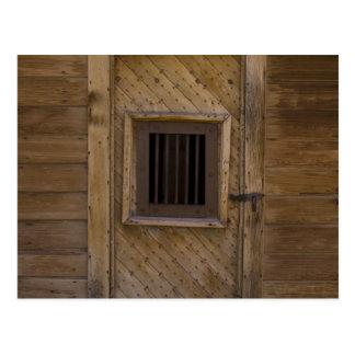 Bodieの刑務所のドア ポストカード