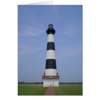 Bodieの島の灯台 グリーティングカード