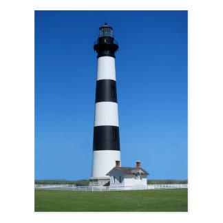 Bodieの島の灯台、口うるさい人ヘッドノースカロライナ ポストカード