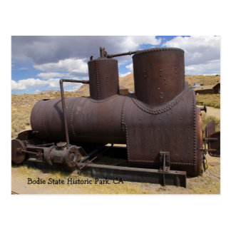 Bodieの採鉱設備 ポストカード