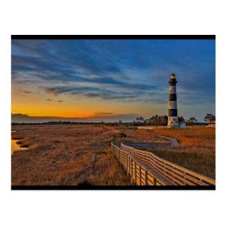 Bodieの灯台、ノースカロライナ ポストカード