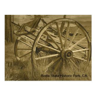 Bodieの荷馬車の車輪1 ポストカード