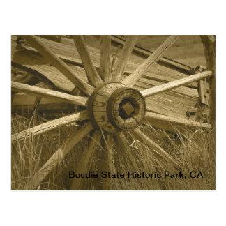 Bodieの荷馬車の車輪2 ポストカード