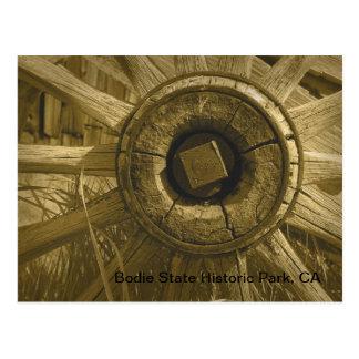 Bodieの荷馬車の車輪3 ポストカード