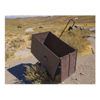 Bodie鉱山のカート ポストカード