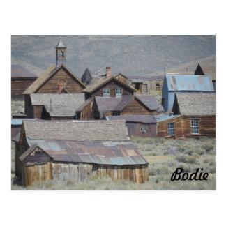 Bodie、カリフォルニア ポストカード