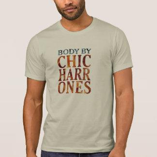 body by chicharrones pork funny t-shirt design tシャツ
