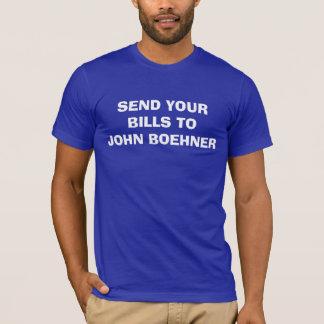 Boehnerに手形を送って下さい Tシャツ