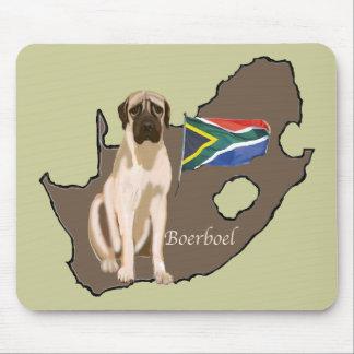 Boerboelの南アフリカのマスティフ マウスパッド