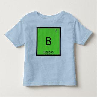 Bogdan一流化学要素の周期表 トドラーTシャツ