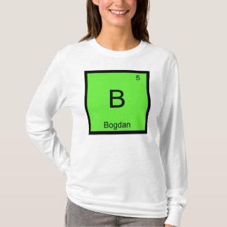 Bogdan一流化学要素の周期表 Tシャツ