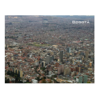 Bogotáの空中写真 ポストカード