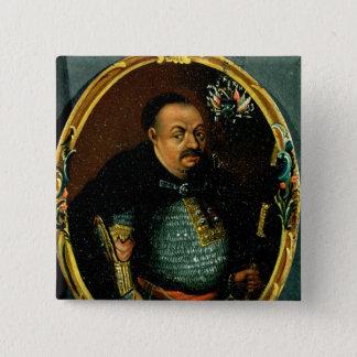 Bohdan Khmelnytskyのポートレート 5.1cm 正方形バッジ