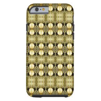 Bohoのイエロー・ゴールドのジプシーの硬貨のボヘミア人の声明 iPhone 6 タフケース