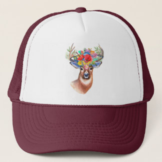 Bohoのシカ|のトラック運転手の帽子 キャップ