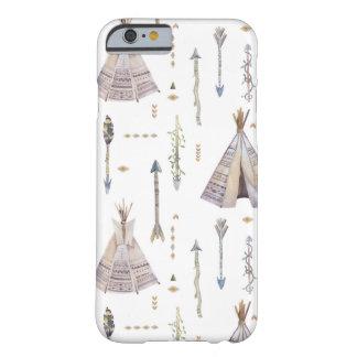 Bohoのテント小屋および矢 Barely There iPhone 6 ケース