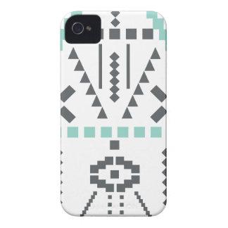 Bohoのトーテム、民族の記号、ヒッピー、種族アズテック人 Case-Mate iPhone 4 ケース