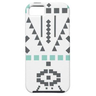 Bohoのトーテム、民族の記号、ヒッピー、種族アズテック人 iPhone SE/5/5s ケース