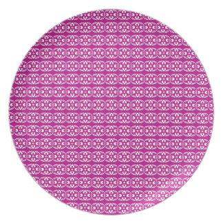 Bohoのバザー、組合せ及びマッチのブドウパターン プレート