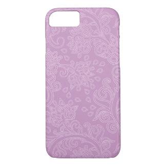 Bohoのピンクのガーリーなデザイン iPhone 8/7ケース
