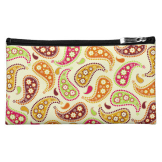 Bohoのペイズリーの化粧品のバッグ コスメティックバッグ