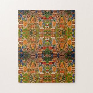 Bohoのボヘミア人を賛美する仏の仏教の仏教 ジグソーパズル